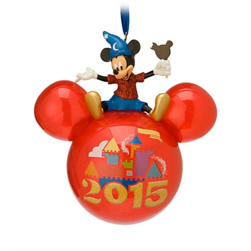 Disney Christmas Ornament - 2015 Mickey Mouse Icon - Walt Disney World. Tap to expand