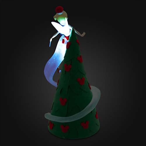 Disney Christmas Tree Topper Retro Light Up Tinker Bell