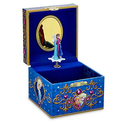 Your WDW Store Disney Trinket Box Frozen Jewelry Box Princess