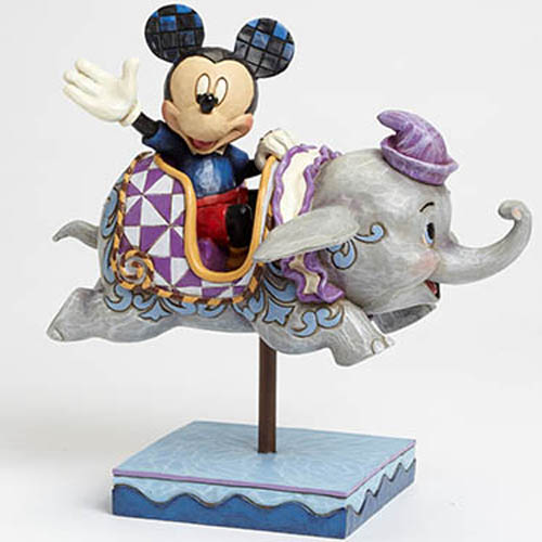 Disney Figurine Traditions By Jim Shore Flying Dumbo