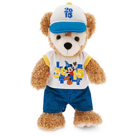 Disney Plush - 2015 Duffy the Disney Bear - 12''