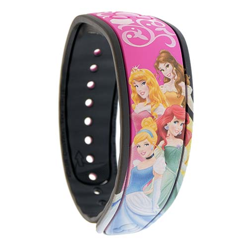Disney MagicBand Bracelet Princesses Belle Aurora