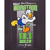 Disney Window Decal - runDisney Donald Duck 13.1 Logo - 2015