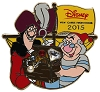 Disney Visa Pin - 2015 Cardmember Pin - Captain Hook's Treasure Chest