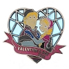 Disney Valentine's Day Pin - 2015 Anna and Kristoff - Frozen