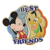 Disney Best Friends Pin - Mickey and Pluto