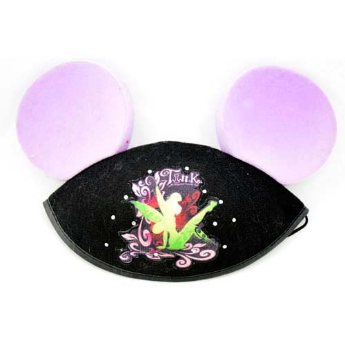Disney Hat - Ears Hat - Tinker Bell Tattoo Hat