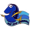 Disney Finding Nemo Pin - Dory - Just Keep Swimming