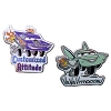 Disney Cars Pin - Pixar Race Cars - Flo and Ramone