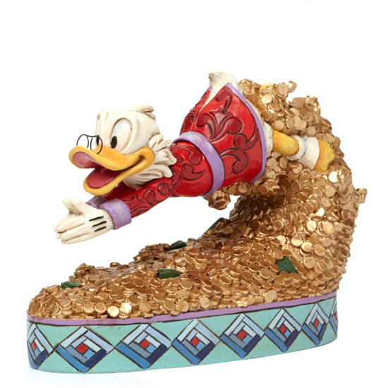 disney figurine traditions by jim shore scrooge mcduck