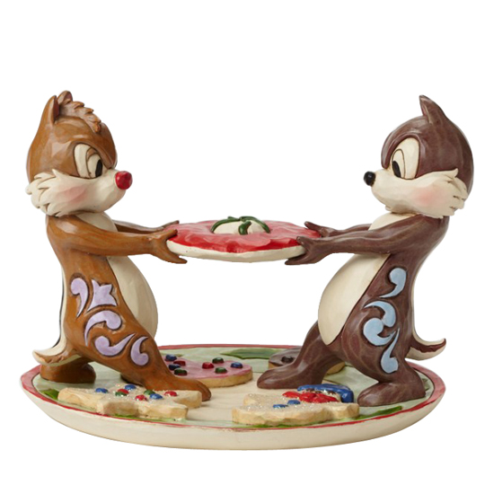 disney traditions by jim shore figurine christmas chip and dale