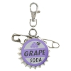 Disney Lanyard Medal - Pixar UP - Grape Soda Cap Pin