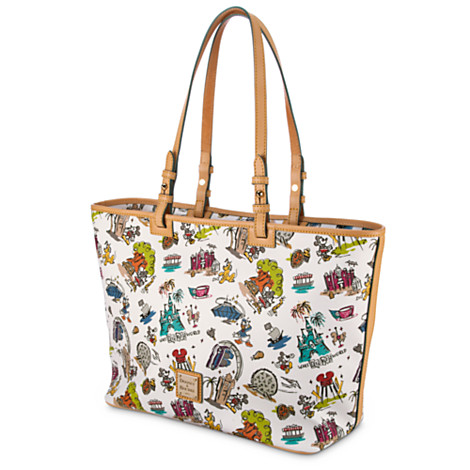 Disney Dooney Bourke Bag World Disneyana Tote