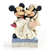 Disney Traditions by Jim Shore Figurine - Mickey & Minnie Wedding