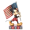 Disney Traditions by Jim Shore Figurine - Mickey Mouse with Flag