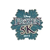 Disney Marathon Pin - 2015 Disney's Frozen 5K