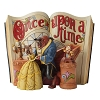 Disney Traditions by Jim Shore Figurine - Beauty & Beast Storybook