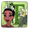 Disney Mystery Pin - Character Alphabet - T - Tiana Chaser