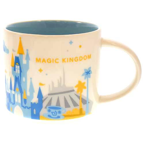 Disney Coffee Cup Starbucks You Are Here Magic Kingdom