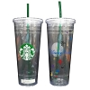 Disney Coffee Cup - Starbucks Cold Cup - 24 oz Disney Parks Logo