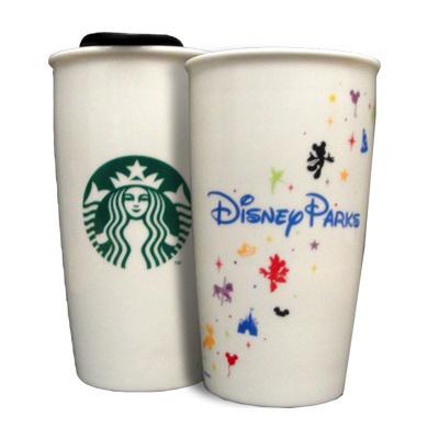 Disney Coffee Cup Starbucks Ceramic Traveler 12 Oz