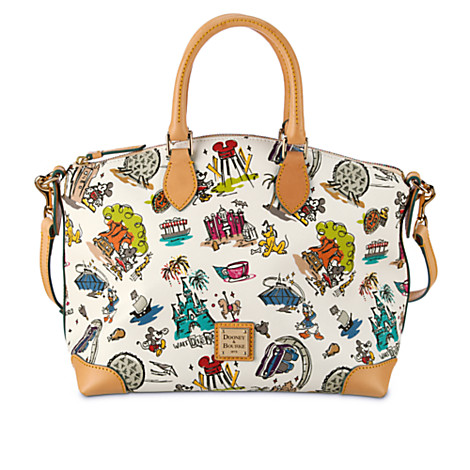 Disney Dooney Bourke Bag World Disneyana Satchel