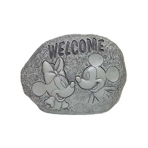 Disney Garden Decor Welcome Rock Mickey And Minnie