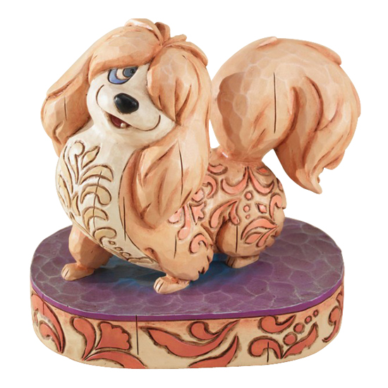 Disney Traditions By Jim Shore Figurine Peg Lady The Tramp