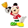 Disney Britto Figure - Santa Mickey
