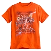 Disney Adult Shirt - Tower of Terror - Ride the Lightning Trio - Orange