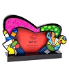 Disney Britto Photo Frame - Peace Love Mickey Photo
