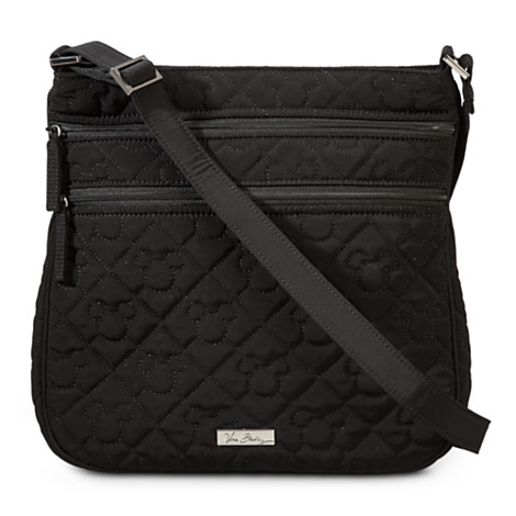 Add to My Lists. Disney Vera Bradley Bag - Microfiber Mickey Black - Triple  Zip Hipster b4b0dbaa24f37