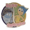 Disney Best Friends Pin - Inside Out - Joy & Sadness
