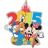 Disney Collector Pin - 2015 Disney Mickey & Pals