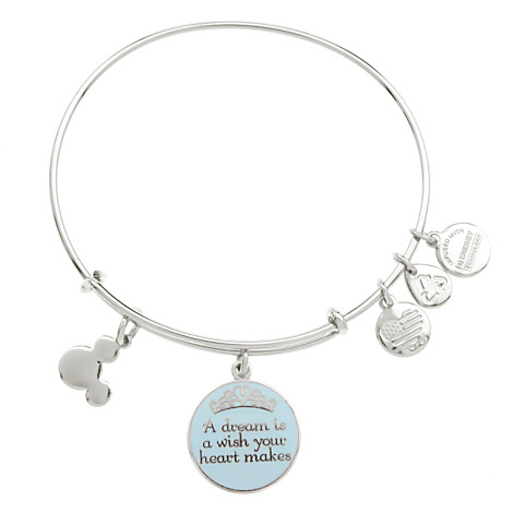 Your WDW Store Disney Alex And Ani Charm Bracelet A Dream Is A - Alex and ani cruise ship
