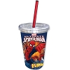 Disney Thermal Tumbler with Straw - Marvel Spiderman - Florida Namedrop