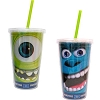 Disney Tumbler with Straw - Monsters University Mike and Sulley