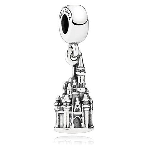 Disney Pandora Charm Cinderella Castle Walt Disney World