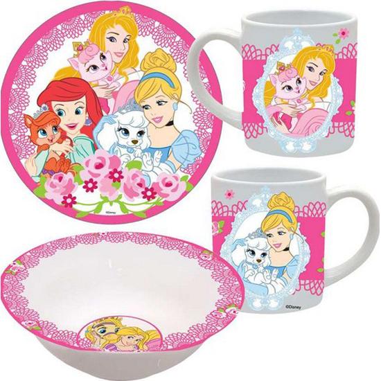 Disney Princess Palace Pets 3pc Porcelain Dinner Set  sc 1 st  Your WDW Store & Your WDW Store - Disney Princess Palace Pets 3pc Porcelain Dinner Set