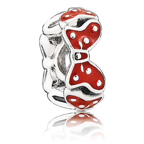 Disney Pandora Charm Minnie Mouse Minnie Bows Spacer