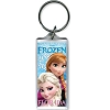 Disney Lucite Keychain Keyring - Frozen - Snow Sisters - Elsa & Anna