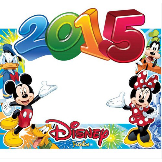 Your WDW Store - Disney Paper Picture Frames - 2015 POW Mickey ...