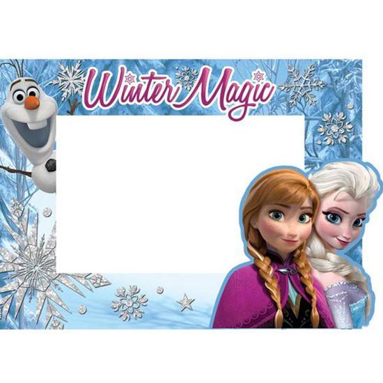 Your WDW Store - Disney Paper Picture Frames - Frozen Trio Elsa Anna ...