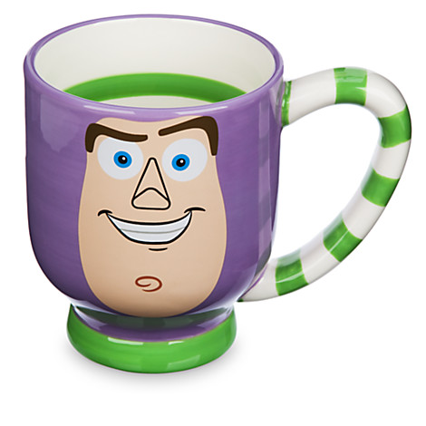 disney coffee cup mug striped coffee mug buzz lightyear