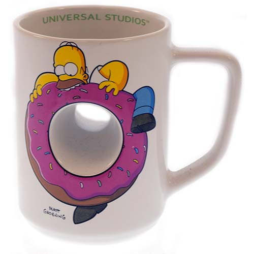 The Hole Simpsons Cup Universal Donut Coffee 0N8OvynwPm