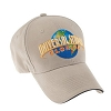 Universal Hat - Universal Studios Florida Khaki Embroidered Adult Cap