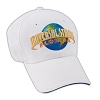 Universal Hat - Universal Studios Florida White Embroidered Adult Cap
