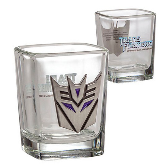 Universal Shot Glass - Transformers Decepticons Shot Glass