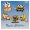 Disney Passholder Pin Set - Parade of Memories