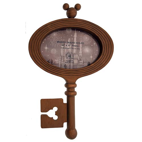 Your WDW Store - Disney Picture Frame - Wooden - Key to the Kingdom ...